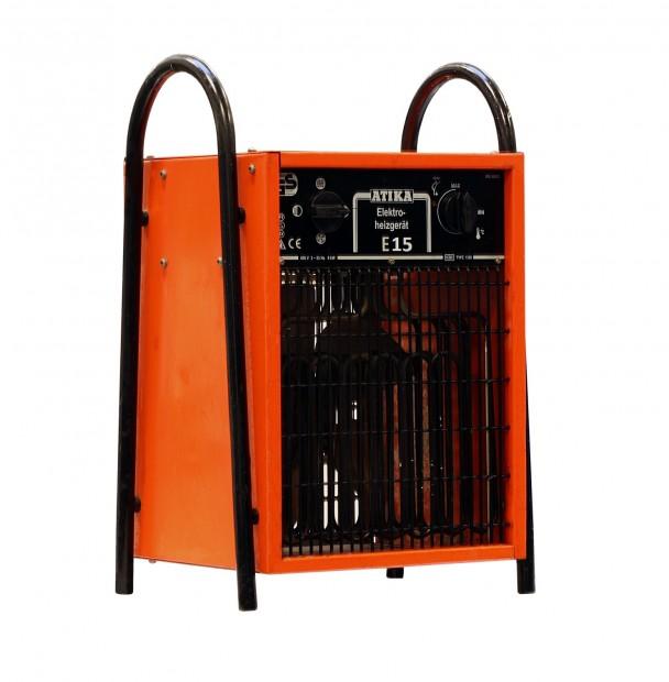 Atika E 15 ipari elektromos hőlégfúvó