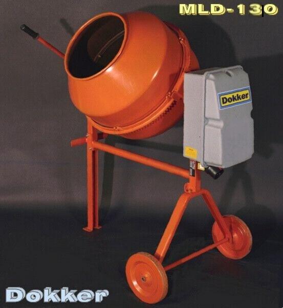 Dokker MLD 130 betonkeverő