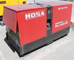 Mosa GE 30 PS diesel áramfejlesztő