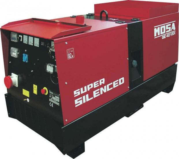 Mosa GE 40 VS diesel áramfejlesztő