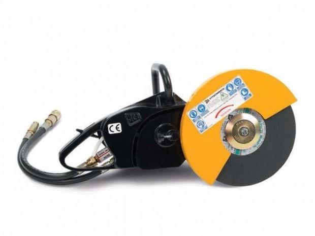 JCB W DISC Cutter burkolatvágó hidraulikus tápegységgel
