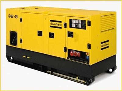 ATLAS COPCO QAS48 diesel áramfejlesztő
