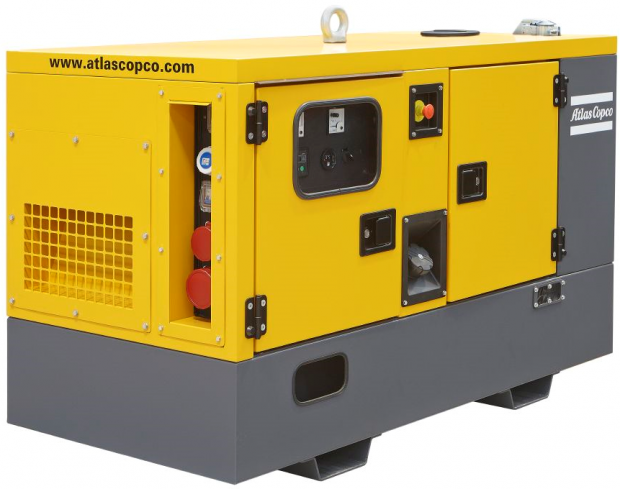 ATLAS COPCO QES60 diesel áramfejlesztő