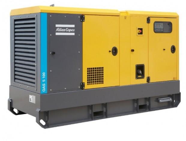 ATLAS COPCO QES85 diesel áramfejlesztő