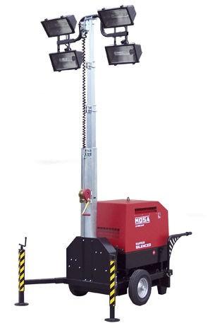 Mosa TFFM-9 fénytorony áramfejlesztővel
