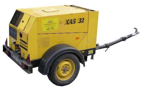 Atlas Copco XAS 32 diesel légkompresszor