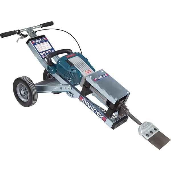 Makinex padlóburkolat eltávolító bérlés, padlófelszedő gép bérlés