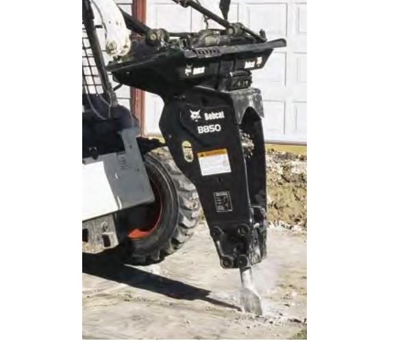 Bobcat B850 törőfej