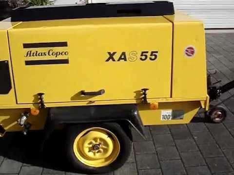 Atlas Copco XAS 55 diesel légkompresszor