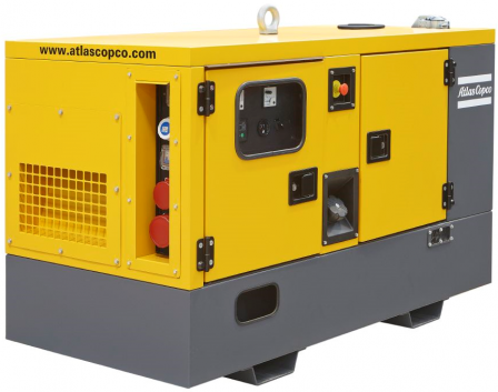 ATLAS COPCO QES40 diesel áramfejlesztő