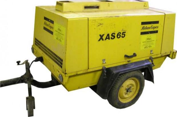 Atlas Copco XAS 65 diesel légkompresszor
