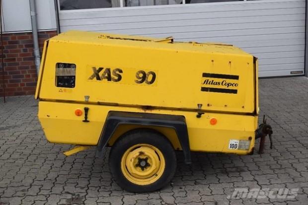 Atlas Copco XAS 90 diesel légkompresszor