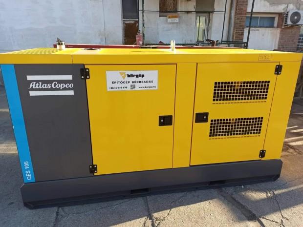 ATLAS COPCO QES105 diesel áramfejlesztő