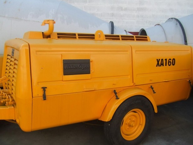 Atlas Copco XAS 160 diesel légkompresszor