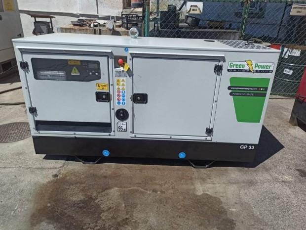 GREEN POWER GP33S/P-N diesel áramfejlesztő