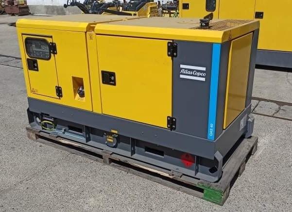 ATLAS COPCO QAS40 diesel áramfejlesztő