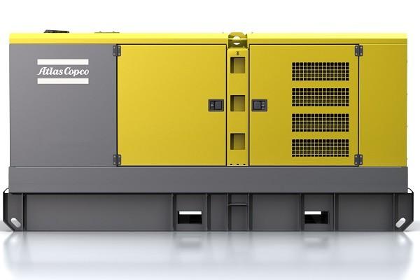 ATLAS COPCO QAS250 diesel áramfejlesztő