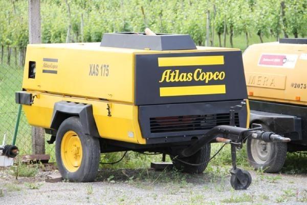 Atlas Copco XAS 175 diesel légkompresszor
