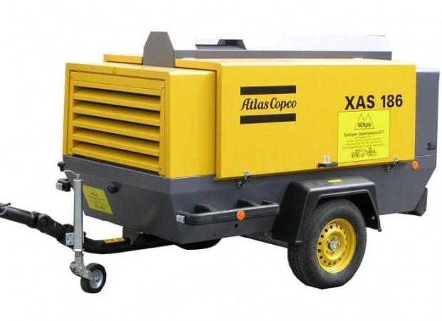 Atlas Copco XAS 186 diesel légkompresszor