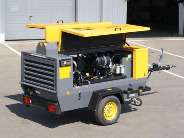 Atlas Copco XAHS 146 diesel légkompresszor