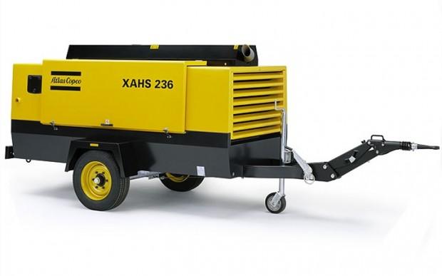 Atlas Copco XAHS 236 diesel légkompresszor