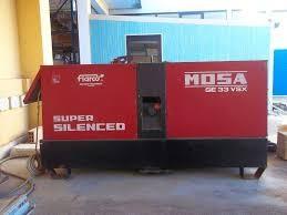 Mosa GE 33 VSX diesel áramfejlesztő
