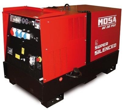 Mosa GE 20 PS-SX diesel áramfejlesztő